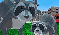 Aventura do Guaxinim: Cidade 3D
