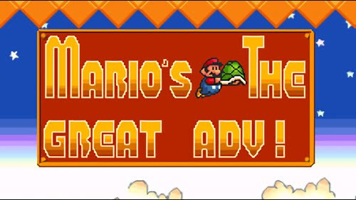 Mario The Great Adventure!