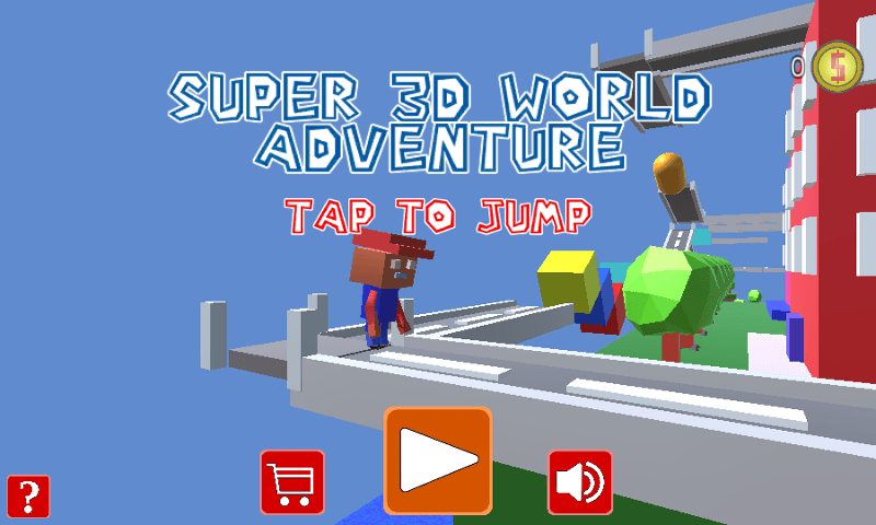 Super 3D World Adventure