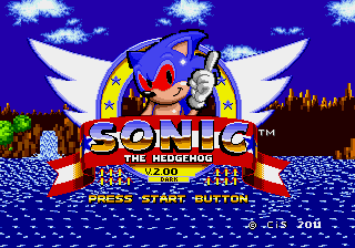 Dark Sound the Hedgehog (Sonic 1 hack)