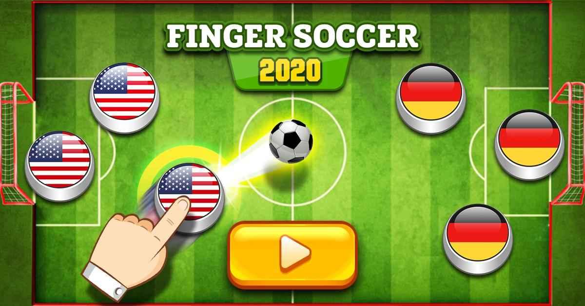 Jogar Finger Soccer 2020 Gratis Online
