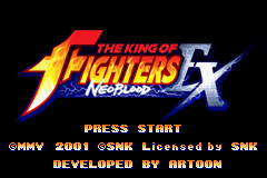 The King of Fighters EX – NeoBlood