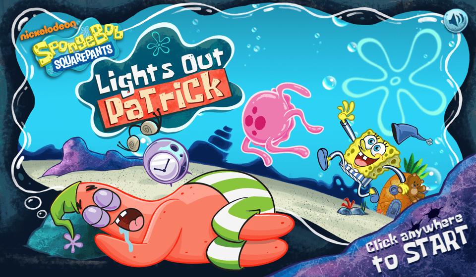 Play Lights Out Patrick | SpongeBob SquarePants
