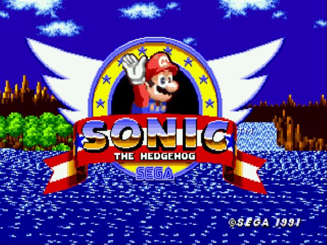 Mario in Sonic 1 (Somari)