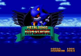 Metal Sonic Hyperdrive (Beta 2)