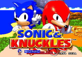 Sonic & Knuckles + Sonic the Hedgehog 2 (World) Long Version
