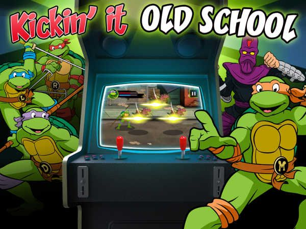TMNT – Kickin it Old School