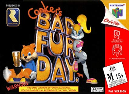 Conker's Bad Fur Day [Nintendo 64]