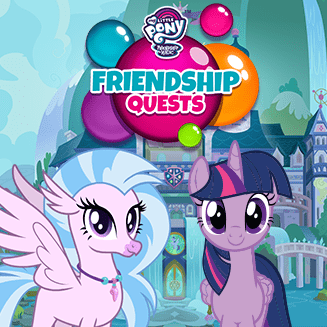 MY LITTLE PONY FRIENDSHIP QUESTS GAME