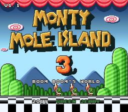 Monty Mole Island 3: Boom Boom's World