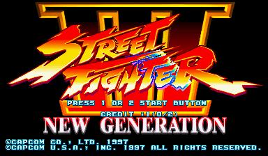 Jogar Street Fighter III: New Generation (USA 970204) Gratis Online