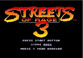 Streets of Rage 3 Enhance Mod