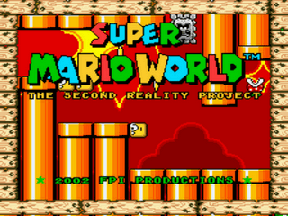 Super Mario World – The Second Reality Project  v1.5