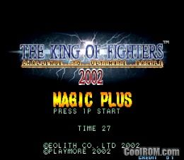 The King of Fighters 2002 Magic Plus