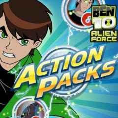 Jogar Ben 10 Alien Force. Action Packs Gratis Online
