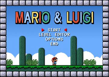 Mario and Luigi – DOS