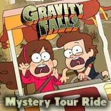 Jogar Gravity Falls – Mystery Tour Ride Gratis Online