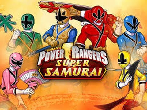 Power Rangers – Super Samurai