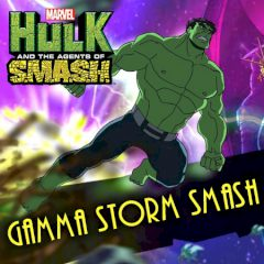 Hulk and the Agents of SMASH Gamma Storm Smash