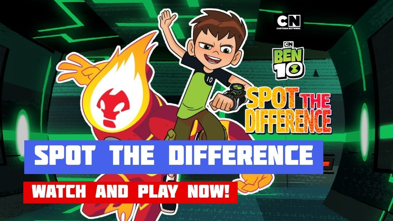 Spot the Difference – Ben 10