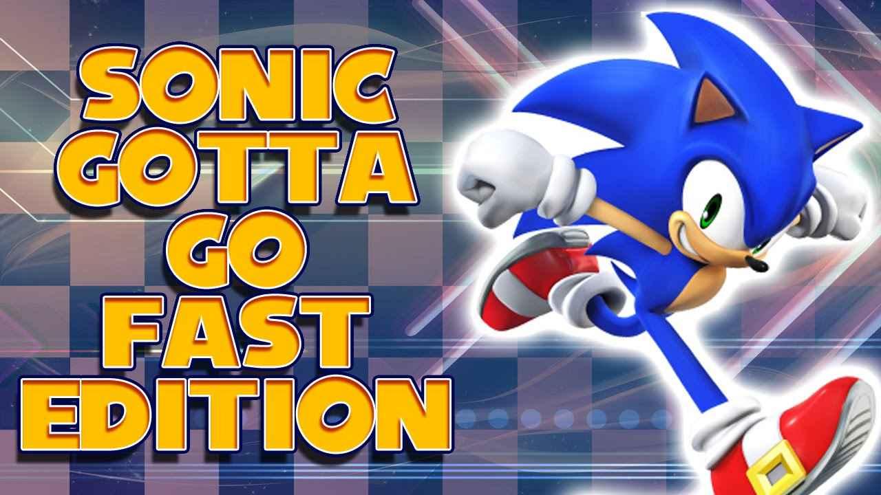Sonic 1 – Gotta go Fast Edition
