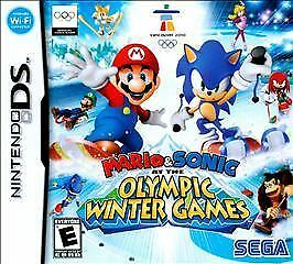 Mario & Sonic: At the Olympic Winter Games – NDS