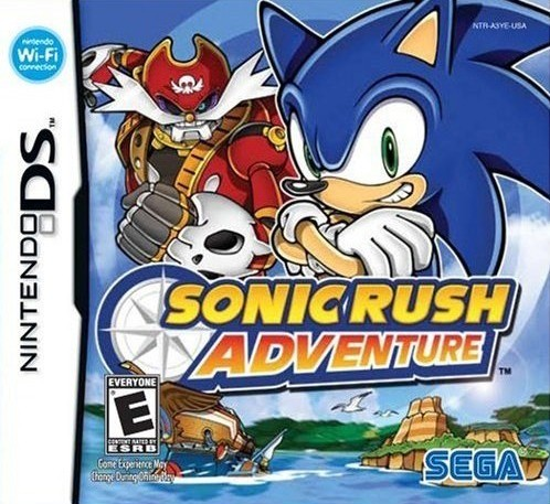 Sonic Rush Adventure (USA) – NDS