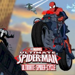 Ultimate Spider-man Ultimate Spider-cycle
