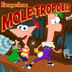 Phineas e Ferb: Escape from Moletropolis