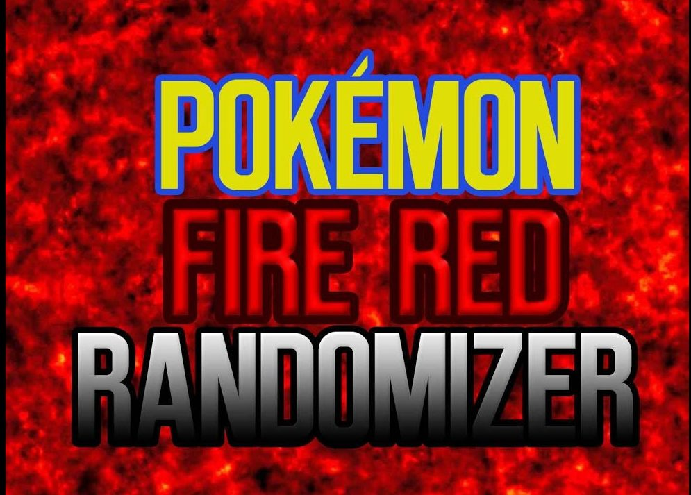 Pokemon Fire Red Randomizer Version (GBA)