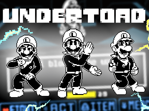 Undertoad Luigi Battle