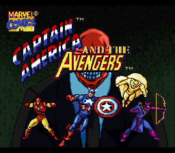 Captain America & The Avengers SNES