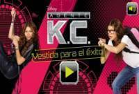 Vestir-se KC Agent do Disney Channel