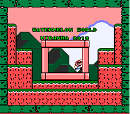 Super Mario World Hacks – Watermelon World