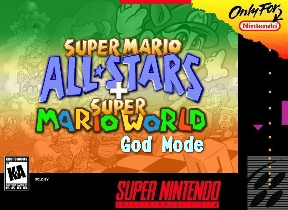 Super Mario All Stars + Super Mario World God Mode