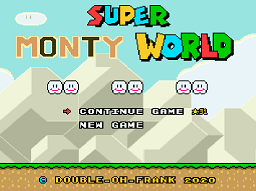 Super Monty World – Super Mario World