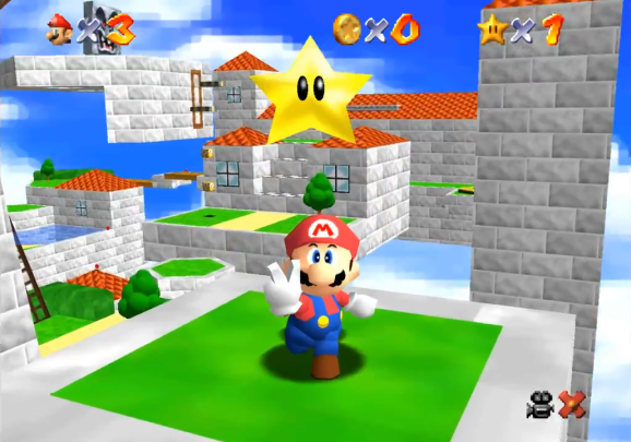 Super Mario 64 No Speed Limit