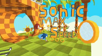 Kogama: Sonic Max speed