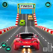 Mega Rampa Car Stunts Racing- Cidade GT Car Racing