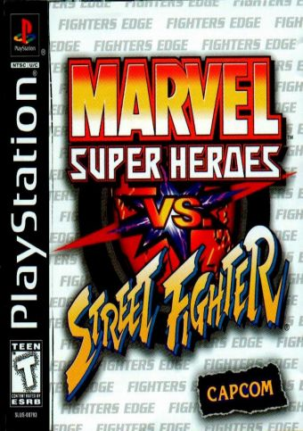 Marvel Super Heroes Vs Street Fighter – PS1