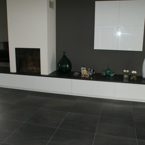 Tegels woonkamer en toilet  Johan Lenssen Tegelwerken