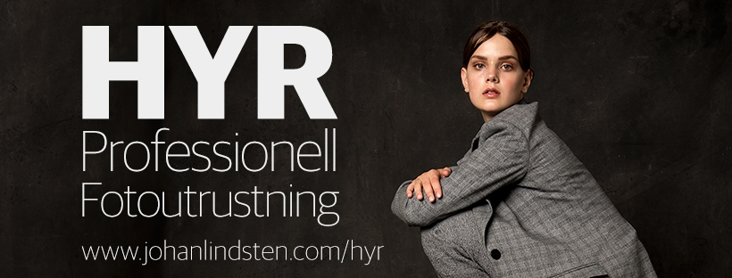 Hyr professionell fotoutrustning direkt från fotograf Johan Lindstén