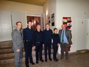 Neujahrsempfang im Salzland Theater