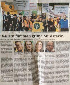 Zeitungsartikel vom 14.04. 2016 (Volksstimme Schönebeck)