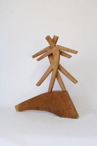 Skulptur eines tanzenden Paares