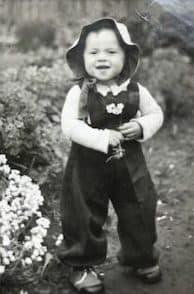 Es könnte mein Geburtstag im Mai 1944 sein.