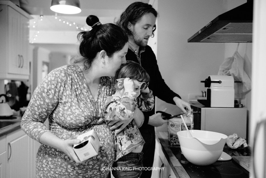 Evening Routine with this Dublin Family at 8 Month Pregnant