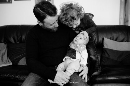 Grandparents, Family and Breastfeeding Dublin Photo Session