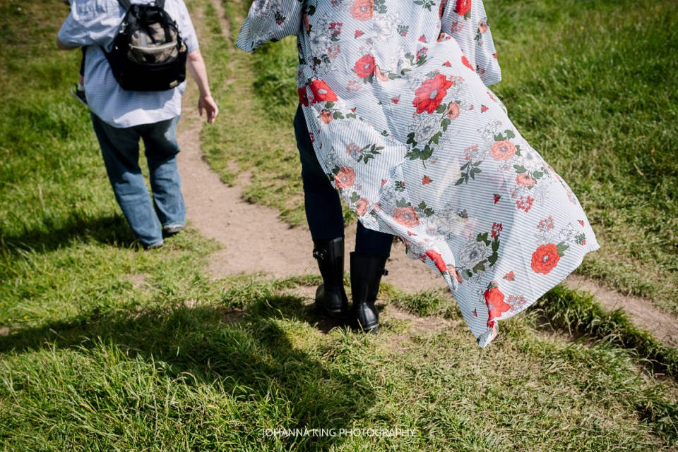 family vacation photographer Ireland hill of tara