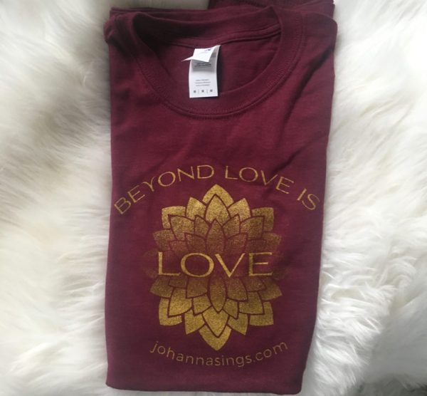 Maroon Unisex Classic Beyond Love T Shirt